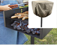Park-Style Grill Cover BBQ Grill Cover Charcoal Barbecue Grill Cover Protection