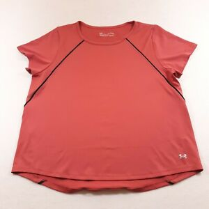 Under Armour Athletic Sport T-Shirt Womens Size XL Run Gym Yoga Workout