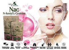 NAC (N-Acetyl L-Cysteine 1200mg) 60 Vegan Capsules Best Natural NAC Supplement