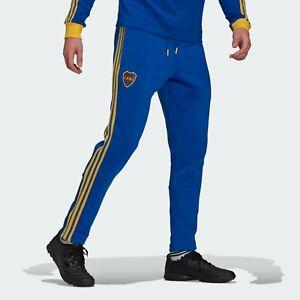 Boca Juniors Home Icon Soccer Football Jersey Pants - 2021 Adidas Argentina