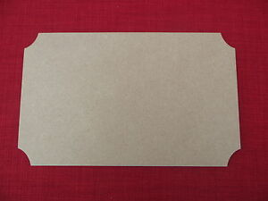 Large Wooden MDF Plaque Blank Wood Craft Sign Shape