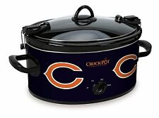 LARGE Chicago Bears CROCK POT Slow Cooker for Tailgating Football Party Serve 7