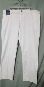 MURANO Mens White  Pants B3G1 FREE Ultimate Chino Modern Fit  34 X 30
