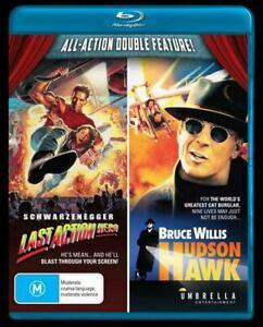 Last Action Hero + Hudson Hawk (Blu-ray) NEW/SEALED [All Regions]