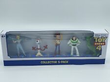 Disney Toy Story 4 Mini Figures Collector 5-Pack - Woody Buzz Forky Bo Peep Rex