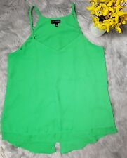 The Limited Woman Green Sleeveless Top Size Medium