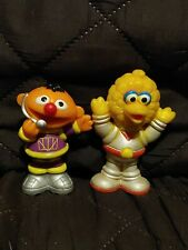 Lot of 2 Sesame Street Muppets Henson Space Big Bird and Ernie PVC Figures