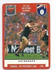 "1991 Stimorol (42) Jim STYNES Melbourne "" """