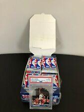 1990-91 NBA Hoops Series1 Box 33 Sealed  packs  Mark Jackson Menendez /M. Jordan