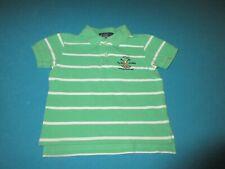 RALPH LAUREN Boys Green Short Sleeve Polo Shirt Size 18 Months 18M