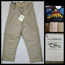 "Vintage 60s Eddie Bauer Down Blizzard Proof Trousers Pants Med 32"" x 28"""