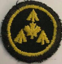 """Canadian Forces Cadet Leader Instructor - Gold On Dark Green  1 1/2"""" #4994"""