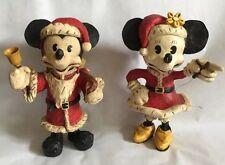 Mickey Minnie Poliwoggs Disney Santa and Mrs Santa