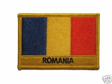 Romania Embroidered Flag patch-Iron on orSew