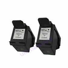 2X HP 901XL CC654A BLack Refilled Ink Cart HP Officejet 4500 J4524 J4535 J4540