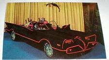 "1960's Batmobile Full-Color 5 1/2"" X 3 1/4"" Picture of Batmobile at Car Show"