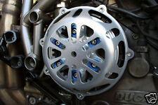 New Ducati Silver Engine Clutch Cover 748 749 996 998 1098 CNC Billet