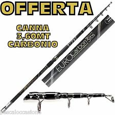 canna da pesca in carbonio carpa carpfishing fishing per mulinelli fondo surf