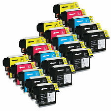 20PK LC-61 LC61 Ink For Brother DCP-165c DCP-375CW DCP-385CW DCP-395CN DCP-J125