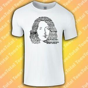 Rory Gallagher Songs T-Shirt (Rock/Guitar Legend/Ireland/Hendrix)