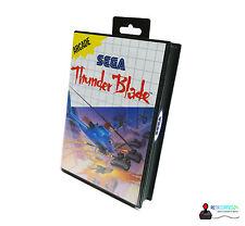 Sega Master System juego-Thunder Blade-nuevo precintado en OVP!!! rar!!!