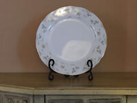 Premiere White w Floral Design Briarwood Patt ME 212 China Replace Dinner Plate