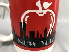 Twin Towers New York City Skyline Coffee Mug Souvenir NYC Cup Big Apple Gift