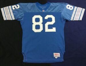 Vintage Detroit Lions #82 Football-NFL Wilson Jersey Size48