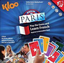 Kloo 'Apprendre à Parler en langue française Jeu de Société-Course à Paris