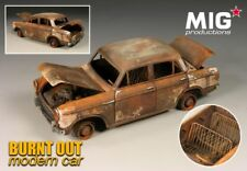 Burnt out Modern Car 1/35