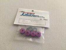 Team GPM Racing Yokomo YR4 MJ2 Aluminum Alloy Wheel Adapter 4pc Set Purple YRJ10