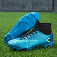 Men's Soccer Shoes Football Boots Sports Sneakers Cleats Fashion Outdoor Big Kid