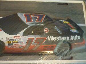 DARRELL WALTRIP WESTERN AUTO #17 NEW METAL LICENSE PLATE VINTAGE NASCAR!!