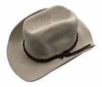 Jacaru Sun Hat Cotton Mens Wide Brim Crushable Cream Band Sun Holiday Beach Bush