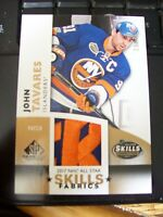 John Tavares 2017-18 SP Game Used All Star Skills Competition Patch /35!