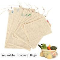 sac de Noël Réutilisable stockage Mesh sac de rangement/de blanchisserie