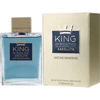 King Of Seduction Absolute By Antonio Banderas Edt Spray 6.7 Oz New