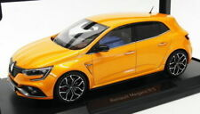 Voitures, camions et fourgons miniatures oranges Megane cars