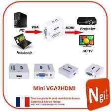 NGI-Adaptateur VGA vers HDMI VGA2HDMI 1080p / convertisseur HD