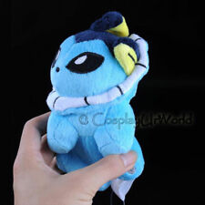 Vaporeon Water Pokemon Eevee Evolution Soft Plush Toy Gift Collectible PKM #134