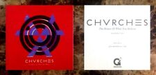 CHVRCHES Bones Of What You Believe Ltd Ed RARE Stickers+FREE Indie Rock Stickers