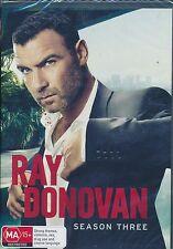 Ray Donovan Season Three 3 Third DVD NEW Liev Schreiber Region 4