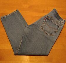 Levis 501 Jeans Mens 35x30 Original Fit Straight Leg Button Fly Blue ACT 33x27