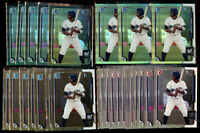 27 Lot- 2015 Bowman Chrome Trent Clark Grisham Asia Black Refractor Draft + #34