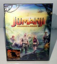 JUMANJI WELCOME TO THE JUNGLE [2D + 3D]  Blu-ray STEELBOOK [HDZETA] LENT. A #007