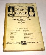 Opera Guyed Newman Levy Rea Irvin Alfred Knopf 1944 New Yorker Vintage Illus.