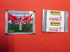 2 PACKET PÖCHETTE PANINI EURO FOOTBALL 2008 - COCA COLA - SEALED RARE