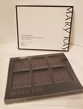 Mary Kay Cosmetic Display Tray Palette w/ Clear Lid Cover - New In Box