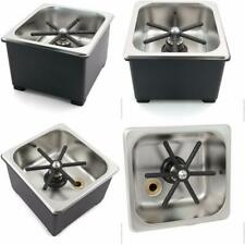 """Counter Top Rinser - 6"""" X 6"""" X 2"""" Pan Size, Nsf Approved."""