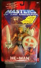 New RARE Masters of the Universe 200X Lot 6 KMart Exclusive with Trading Card